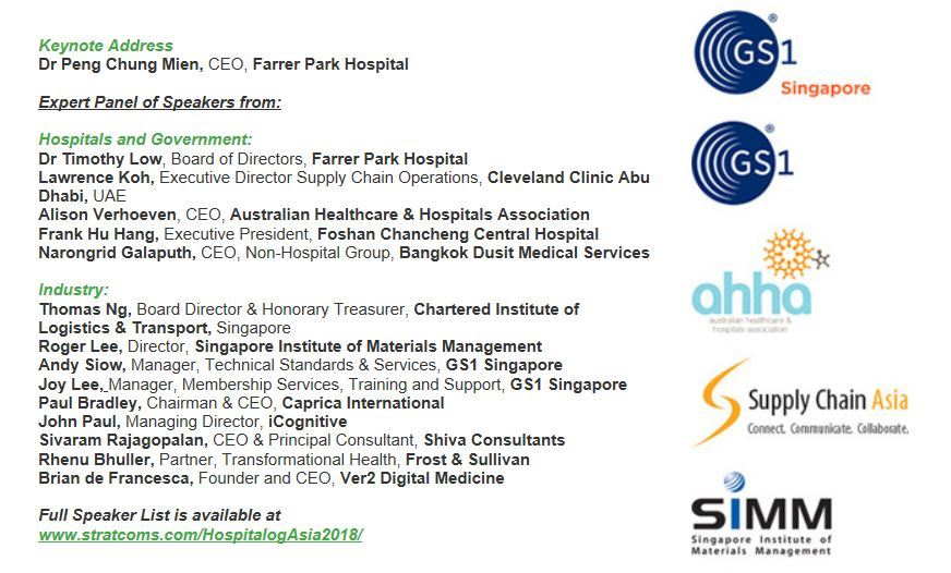 Supply Chain and Logistics Association of Australia Ltd - Hospitalog